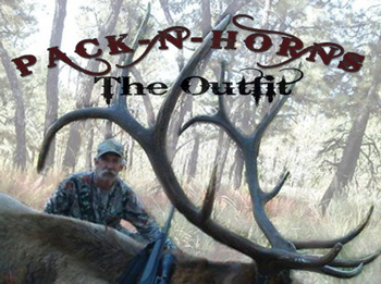 Pack-N-Horns James Coppedge in Arizona Bull Elk 2013